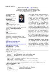 Translator Resume Sample Resume Sample For Translation Job Therpgmovie 28