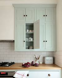 devol english classic kitchen in sage green cabinets butcher block counters