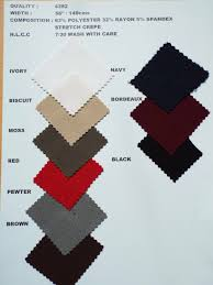 autumn winter swatch collections