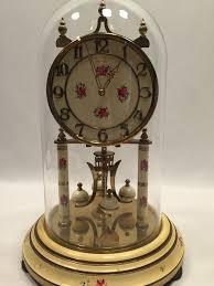 torsion clock. kieninger \u0026 obergfell kundo 400 day anniversary clock floral works torsion