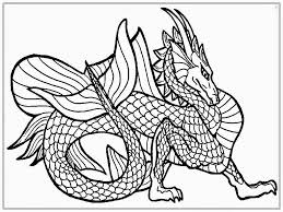 Small Picture Dragon Coloring Pages For Adults To Download And Print Free