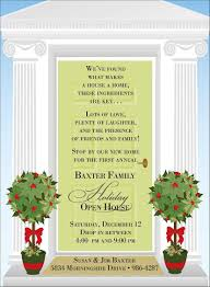 Christmas Open House Invitation Christmas Open House Invitations Christmas Open House Invitations