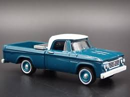 1963 DODGE D100 Pickup Truck Rare 1/64 Scale Collectible Diecast ...
