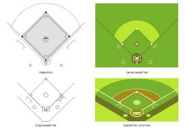 Baseball Field Diagram Fillable Simple Baseball Field Sample Baseball Field Template