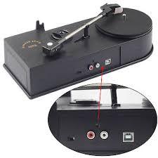 <b>USB</b> Vinyl <b>Turntable Record Player</b> 33/45RPM LP to MP3 Converter ...