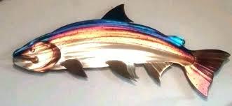 wooden fish wall art outdoor metal wall art fish fish wall art outdoor metal fish wall