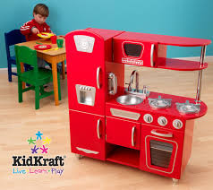 Kid Craft Retro Kitchen Red Vintage Kitchen Kidkraft 53173