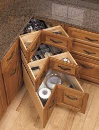 furniture for corner space. 40 organization and storage hacks for small kitchens u003e diy kitchen corner drawers furniture space