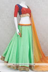 Light Green Combination Light Green Soft Silk Chaniya Choli With Beautiful Color