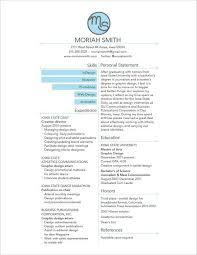 Creative Simple Resume Design Gentileforda Com