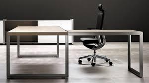 office desk legs. modern oikos lshaped desk with metal leg natural maple zuri furniture office legs