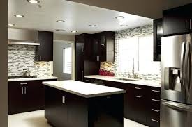 Dark Kitchen Cabinets With Light Granite Gorgeous Backsplash For Kitchens With Dark Cabinets Dark Cabinet Kitchen