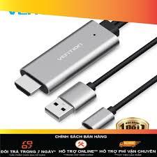 Cáp HDMI kết nối iPhone với Tivi dài 2m - Vention - CEJRH