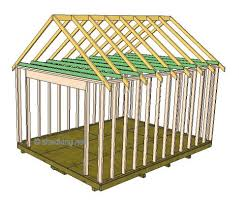 gable shed roof building a shed roof