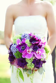 Purple and green wedding colors Plum Wedding Chicks Vintage Romantic Purple Green Wedding