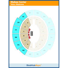 Mabee Center Tulsa Ok Seating Chart Oru Mabee Center Tulsa Event Venue Information Get Tickets