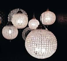 round glass ball chandelier home stunning round glass ball chandelier elegant crystal chandeliers round glass ball