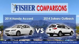 2014 Honda Accord vs. 2014 Subaru Outback | Vehicle Comparison ...