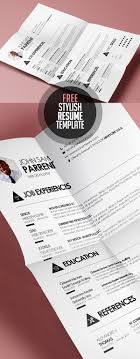 Trendy Resumes Free Download Free Resume Templates for 100 Freebies Graphic Design Junction 36