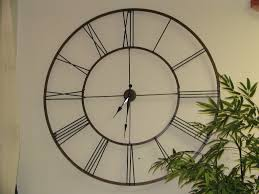 large decorative wall clocks  decorating ideas