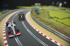 auction track ultimate scalextric track up for auction aol