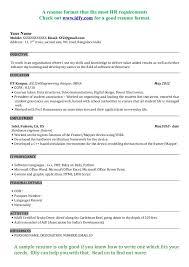 Resume Objective Civil Engineer Cv Resume Format India Resume For Teacher Job In India For Fresher 37