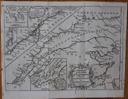 Lake Ontario Chart A New Chart Of The River St Lawrence From The Island Of Anticosti To Lake Ontario By Andrew Bell 1726 1809 On Lord Durham Rare Books