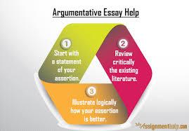 argumentative essay helper com