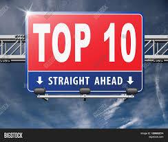 Top 10 Charts List Pop Image Photo Free Trial Bigstock