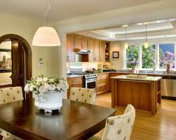 Open Kitchen Dining Room Incredible To 1