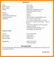 Resume Preparation Great Preparation Of Resume Biodata Contemporary Resume Ideas 54