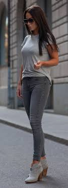 Best 25 Grey jeans ideas on Pinterest