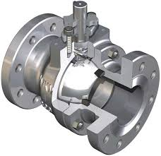 Cross Section Of A Ball Valve