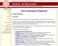 how to recognize plagiarism choice of legacy or new tutorial image of welcome page in the old tutorial
