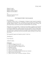 For Parents How Write Letter Invitation Visa Application Download