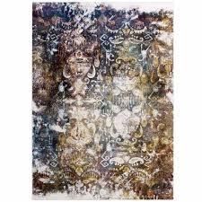 success jayla transitional distressed vintage fl moroccan trellis 4x6 area rug in multicolored