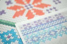 Knitting On Paper Laylock Knitwear Design