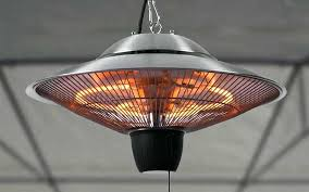 idea patio heater electric or firefly ceiling mounted infrared patio heater 69 best electric patio heaters