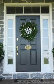 Front Door Door Colors For A White House Bolehwin Neutrl Yellow