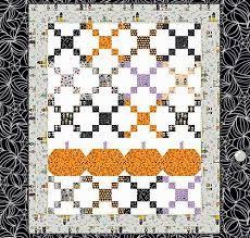 Best 25+ Pumpkin quilt pattern ideas on Pinterest | Fall quilts ... & Free Quilt Pattern featuring Halloween Magic by Bella BLVD for Riley Blake  Designs Adamdwight.com
