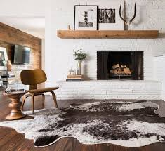 natural cowhide rugs
