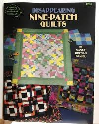 152 best Quilting and Sewing Books images on Pinterest | Quilt ... & Disappearing Nine patch Quilts Pattern Instruction Book Sewing Quilting  Crafts Adamdwight.com