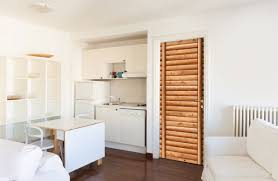 door wall sticker contact paper self adhesive wallpaper wooden logs door 2 kitchen