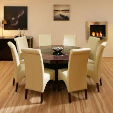 round dining table 8 chairs intended for attractive contemporary room plan 11