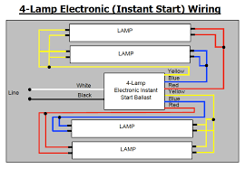 wiring diagram for lamp ballast wirdig