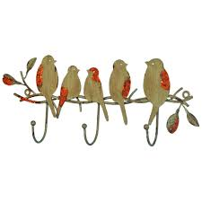 Bird Coat Rack Ethan Birds on Branch Wall Mounted Coat Rack Wall mounted coat 20