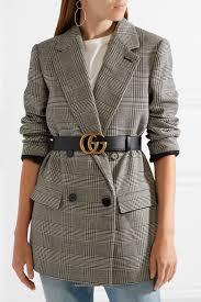 Gucci Dress Size Chart Gucci Leather Belt Net A Porter Com