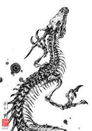 サトルさんの龍のイラスト カズやんの恐竜模型徒然草