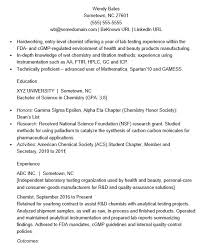21 Free Analytical Chemist Resume Samples - Sample Resumes