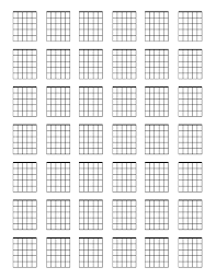 Chord Charts For Kids Blank Guitar Chord Chart Sada Margarethaydon Com
